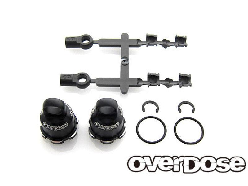 Overdose Long Aluminum Shock Bracket Set for HG Shock Spec.2 (2pcs)