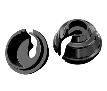 WRAP-UP Next Rate-Up Spring Retainer 8mm - Black (2pcs)