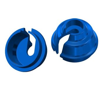 WRAP-UP Next Rate-Up Spring Retainer 8mm - Blue (2pcs)