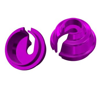 WRAP-UP Next Rate-Up Spring Retainer 8mm - Purple (2pcs)