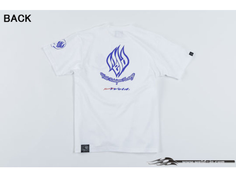 Overdose Weld T-shirt with Short Sleeve / Color: White / Size: XXL