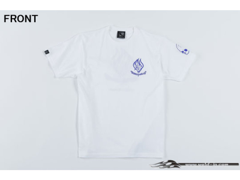 Overdose Weld T-shirt with Short Sleeve / Color: White / Size: XL