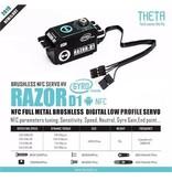Theta RazorD1 - Razor D1 Full Metal NFC Programmable Brushless Digital Servo with Build-In Gyro