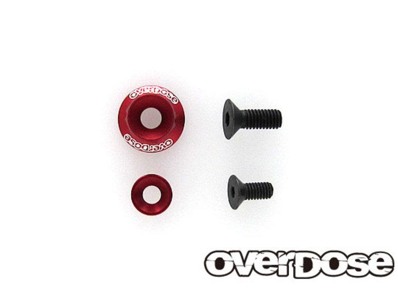 Overdose Wheel Washer Set for OD2713~8 / Color: Red