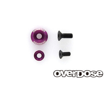 Overdose Wheel Washer Set for OD2713~8 / Purple