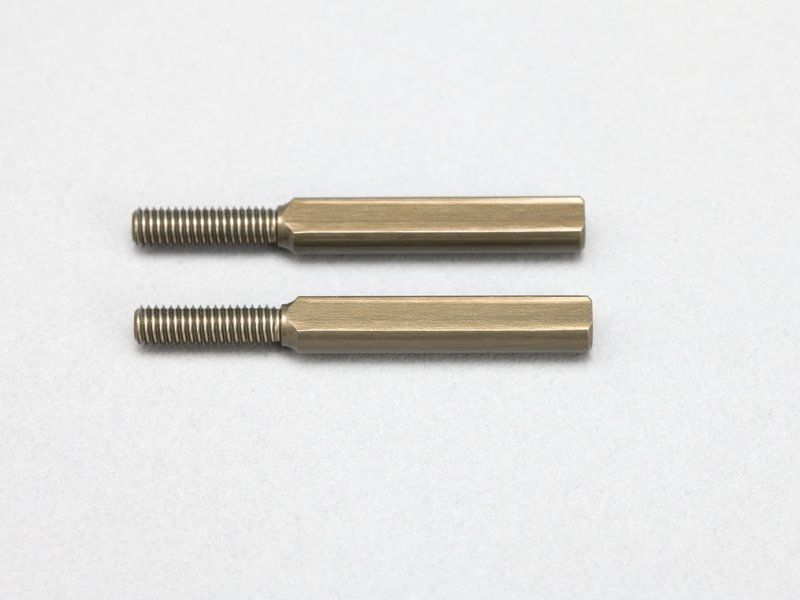 Yokomo D-155-20A - Aluminum Rod End Adaptor 20mm for Front Upper A-Arm (2pcs)