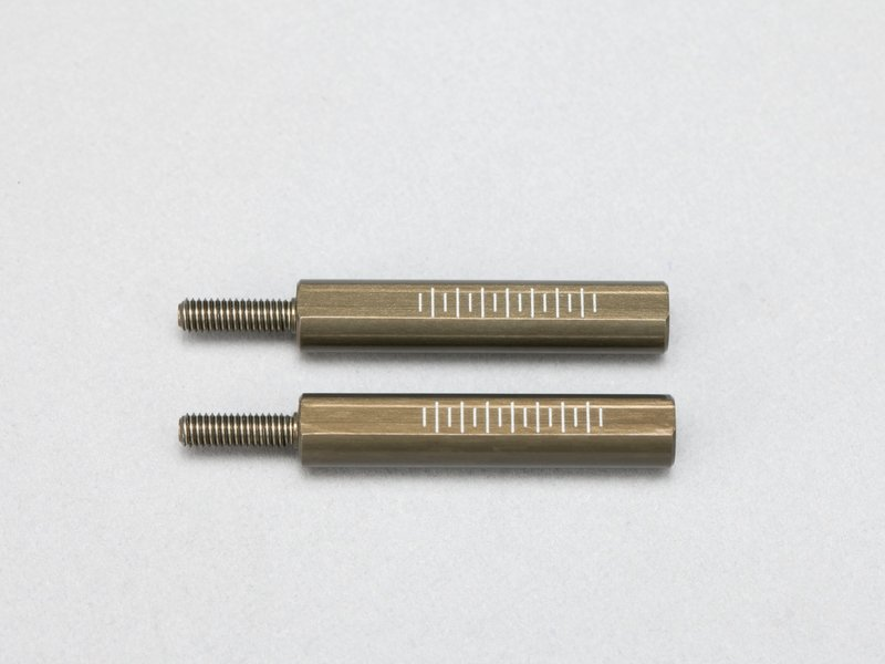 Yokomo D-156-30A - Aluminum Rod End Adaptor 30mm for Front Lower A-Arm (2pcs)