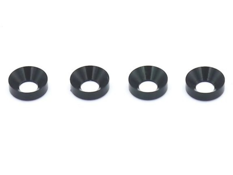 ReveD AluminumCountersink Washer φ3mm (4pcs)