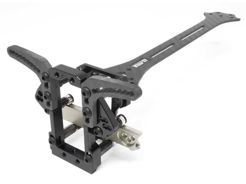 WRAP-UP Next 0523-FD - VX-DOCK Bolt-On Package Cutting Angle Up Spec for YD-2 - Black
