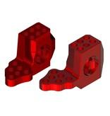 WRAP-UP Next 0519-FD - GX RWD Front Knuckle Ver.4 Super Lightweight - Red