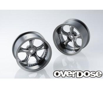 Overdose Work VS KF / Matte Black Metal Chrome / 7mm (2)