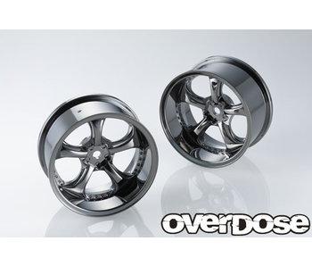Overdose Work VS KF / Black Metal Chrome / 5mm (2)