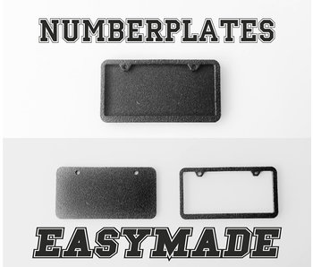 Easymade Numberplates M1