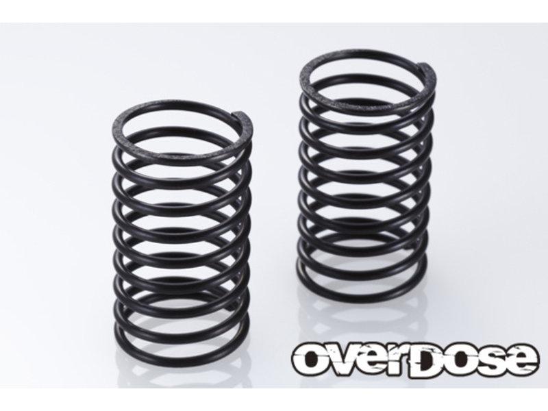 Overdose Shock Spring φ1.3 x 28mm 9 Coils / Color: Black