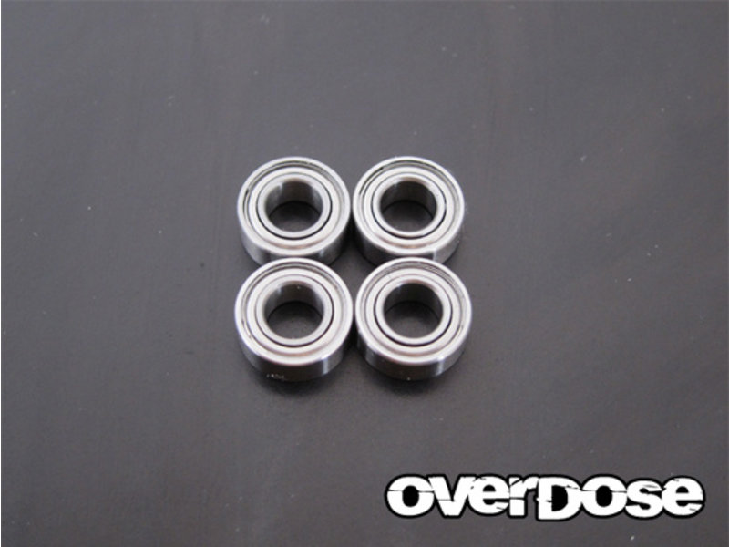 Overdose Low Friction Ball Bearings φ5mm x φ10mm x 4mm (4pcs)