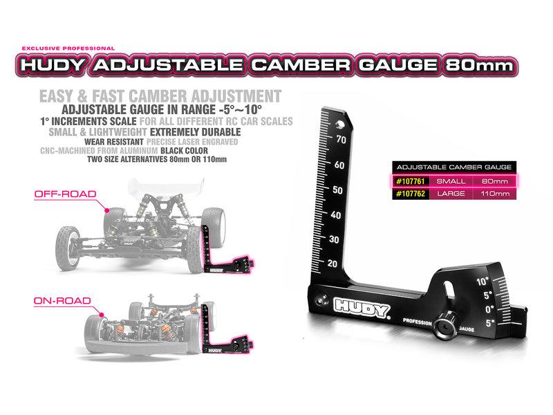 Hudy H107761 - Adjustable Camber Gauge 80mm
