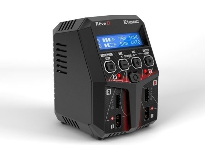 ReveD X2 V Compact Dual Port Charger