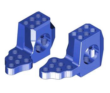 WRAP-UP Next GX RWD Front Knuckle Ver.4 Super Lightweight - Blue