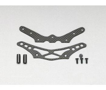 Yokomo Graphite Bumper & Bumper Brace for YD-2