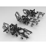 Addiction RC AD-YDHTM - High Traction Rear Motor Bulkhead for YD2 - Black LIMITED