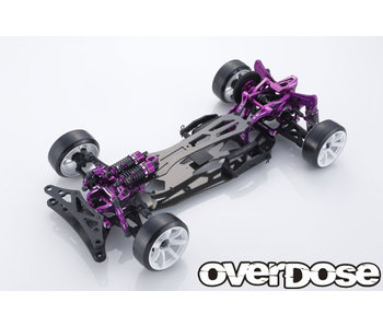 Overdose GALM Ver.2 10th Anniversary LIMITED EDITION 2WD Chassis Kit / Purple