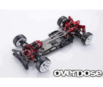Overdose GALM Ver.2 10th Anniversary LIMITED EDITION 2WD Chassis Kit / Red