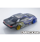 Overdose Toyota Mark II JZX100 Clear Body & Weld Hyakushiki Rokugouki Graphic Decal Set