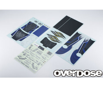 Overdose Weld Hyakushiki Rokugouki Graphic Decal Set