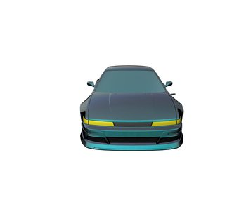 Rc Arlos Nissan Silvia S13 Spirit-Rei Clear Body