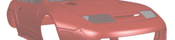 Nissan 300ZX (Z32) TwinZ Design