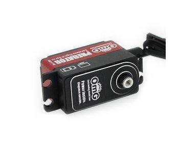 RC OMG Predator Full Metal Coreless Digital Low Profile Servo - Red