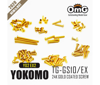 RC OMG Golden Screw Kit for Yokomo YD2 EXII