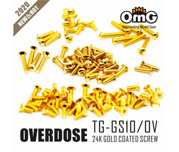 RC OMG Golden Screw Kit for Overdose Galm