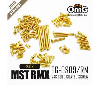RC OMG Golden Screw Kit for MST RMX 2.0 S