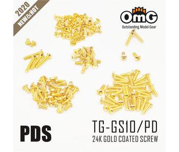 RC OMG Golden Screw Kit for Usukani PDS