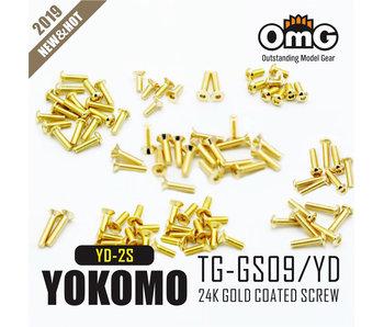RC OMG Golden Screw Kit for Yokomo YD-2S