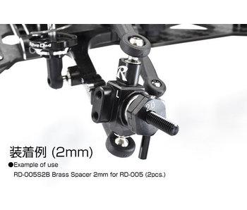 ReveD Brass Wheel Spacer 2.0mm for RD-005 (2)