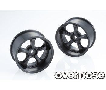 Overdose R-SPEC Work VS KF Type-RY / Black / 5mm (2)