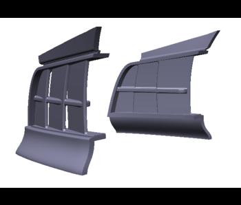 Rc Arlos Front Side Air Vents for Porsche 911 (997) LB★WORKS