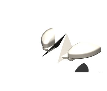 Rc Arlos Mirrors for Nissan 350Z
