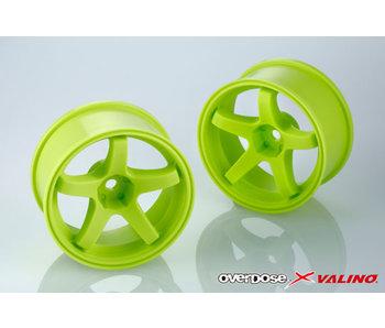 Overdose Valino GV330 26mm / Lime Yellow / 7mm (2)