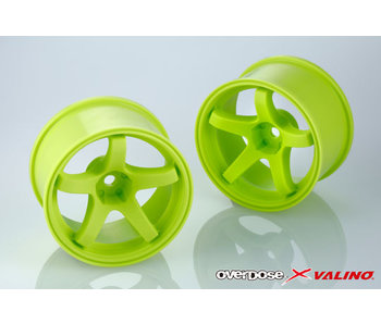 Overdose Valino GV330 30mm / Lime Yellow / 9mm (2)