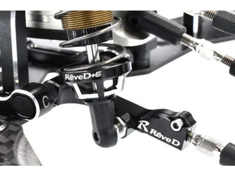 ReveD Aluminum Spring Retainer 6mm (2pcs)