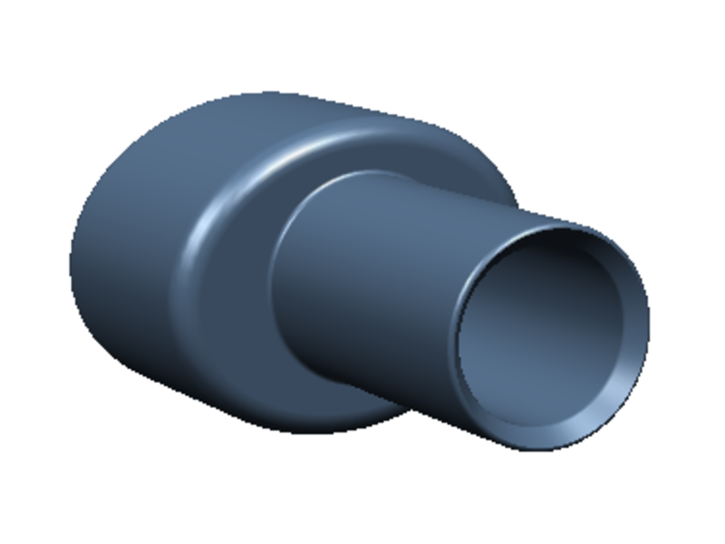 Rc Arlos RC-MRX7FD-EX - Exhaust for Mazda RX-7 FD