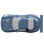 Rc Arlos RC-MRX7FD-RS-V2 - Rear Spoiler V2 for Mazda RX-7 FD