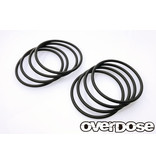 Overdose Tire Stabilized O-Ring Black (8pcs)