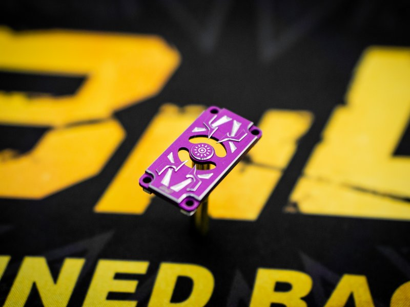 BnD Racing Aluminium Servo Bottom Case / Color: Purple