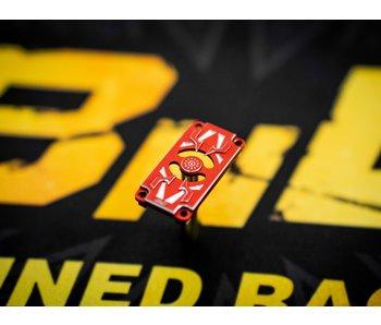 BnD Racing Alum. Servo Bottom Case / Red
