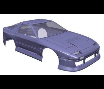 Rc Arlos Mazda RX-7 FC Clear Body