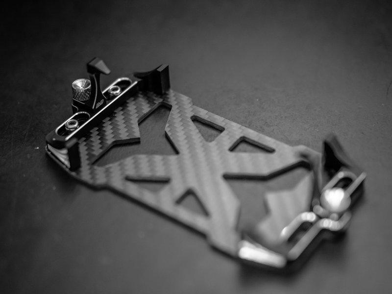 BnD Racing Aluminium Battery Holder / Color: Black